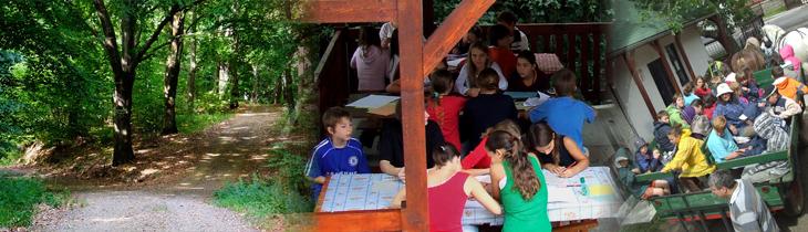 Erdei iskola a Zemplénben