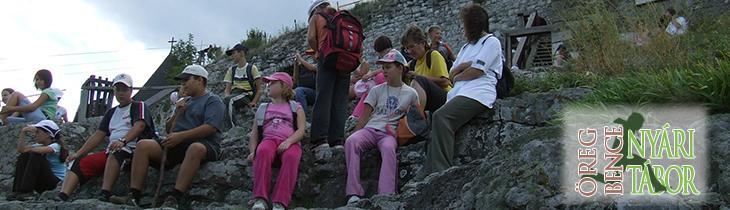 Nyári tábor az Öreg Bence Turistaház és Erdei Iskolában